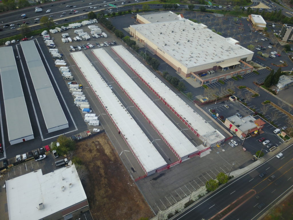 storages flat roof repair, reroofs and leakrepair