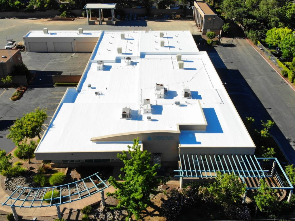 commercial flat roof services from flat roof pros