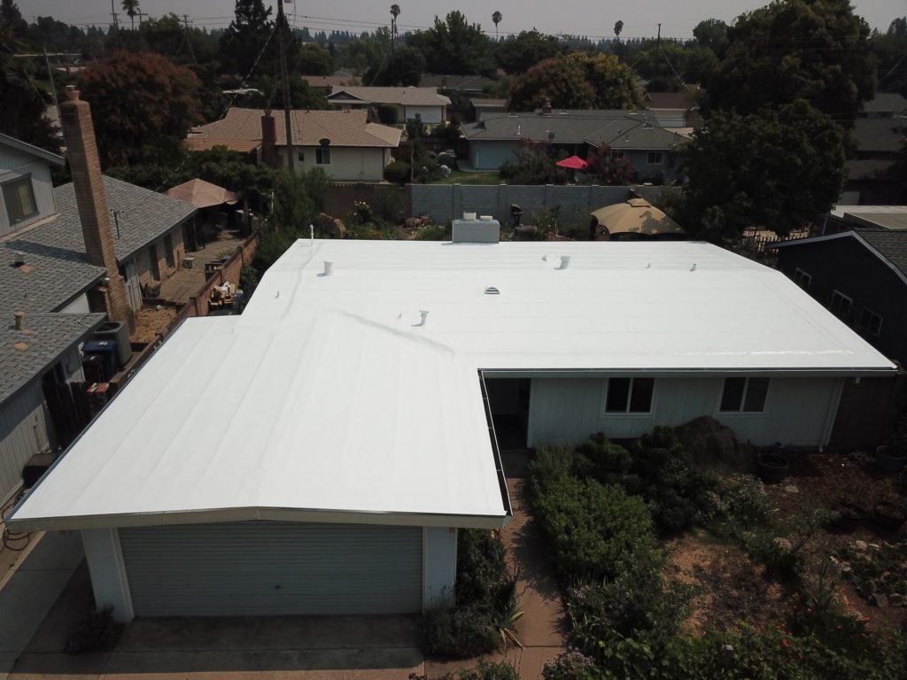 residential low scope flat roof